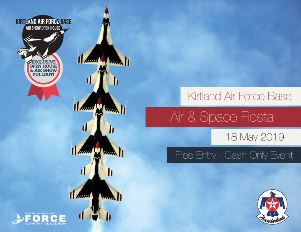 Kirtland Air Force Base Air & Space Fiesta Event Brochure