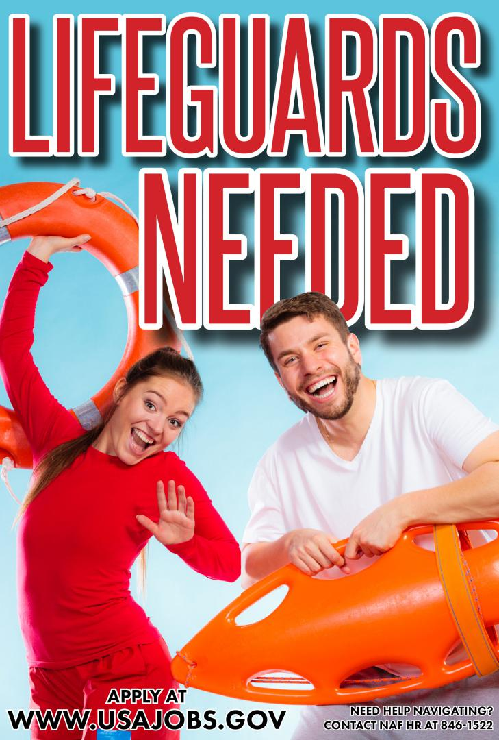 Indoor & Outdoor Lifeguards Needed